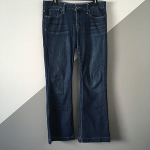GAP Sz 8 Long and Lean Boot Cut Jeans